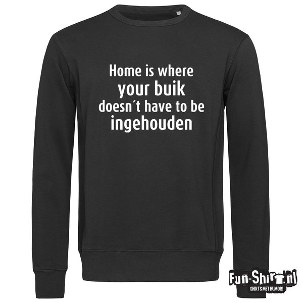 Home is where your buik Sweater
